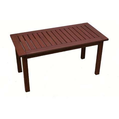 It uses lumber that is readily available at the home. Wooden Outdoor Coffee Table Rectangular 90x45cm | Buy ...
