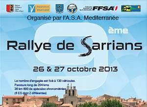 Rallye Sarrians 2017 : classement rallye de sarrians 2013 ~ Medecine-chirurgie-esthetiques.com Avis de Voitures
