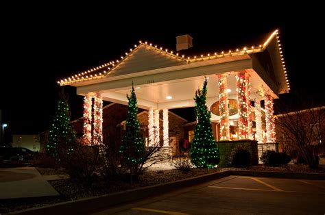 Commercial Holiday Lighting  Creative Outdoor Lighting