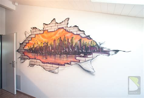 HD wallpapers peinture chambre theme new york
