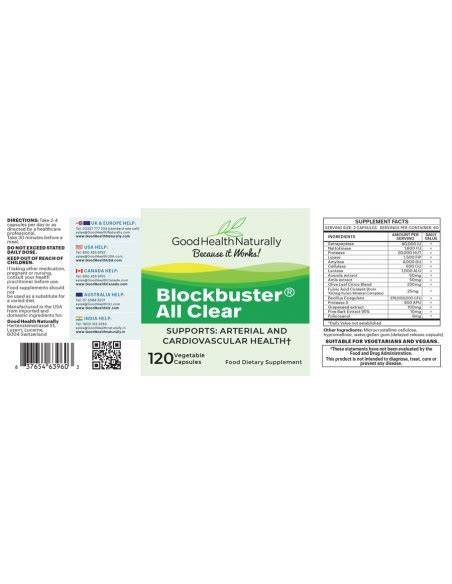 Blockbuster AllClear® 120 Delayed Release Capsules