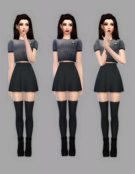 simply sim style   cute lookbook  inspired