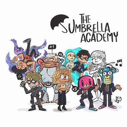 Umbrella Academy Cartoon Luther Draw Drawings Number
