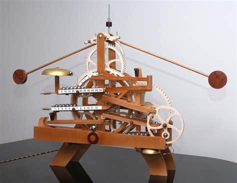 wooden gear clock plans  clayton boyer