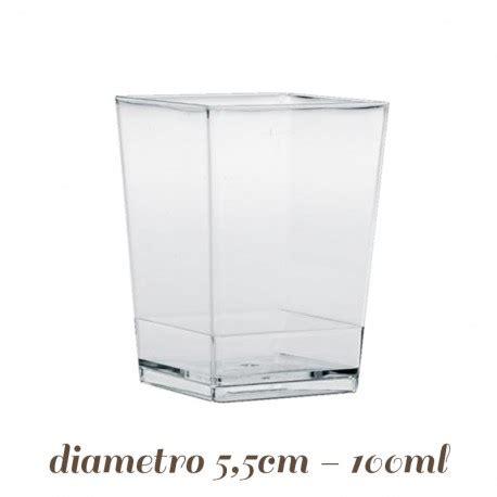 bicchieri per finger food bicchierini monouso cubo per finger food