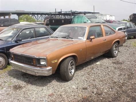 buy   chevrolet nova base coupe  door
