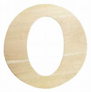 Unfinished wooden letter quotoquot word and letter cutouts for Wooden letter o