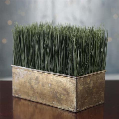artificial wheat grass planter  sale home decor
