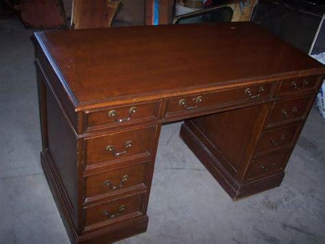 sligh furniture antique desk newer executive cherry desk by sligh furniture