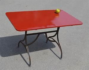 Table De Jardin Fer : mobilier de jardin ancien vendu ~ Nature-et-papiers.com Idées de Décoration