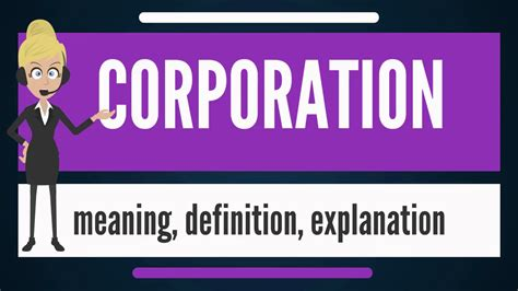 What is CORPORATION? What does CORPORATION mean ...