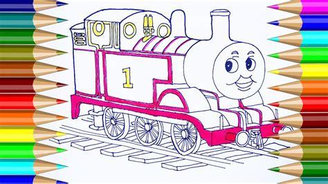 Dibujos para colorear Thomas & Friends Cómo dibujar