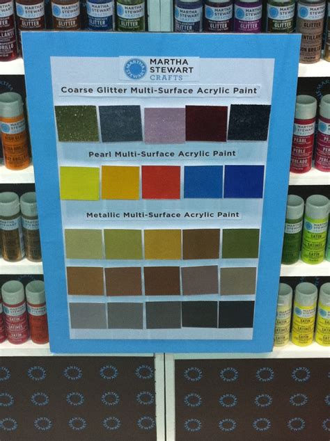 a palette of martha stewart paint colors 2012 cha summer