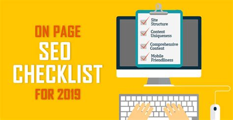 Page Seo Checklist Techniques Get Ranked