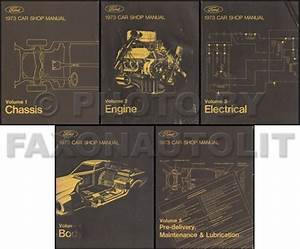 1973 Ford Lincoln Mercury Service Specifications Manual