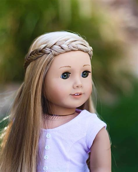 cute hairstyles for ag doll isabelle hair