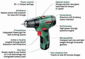 Bosch Akkuschrauber Psr 10 8 Li 2 : bosch psr 10 8 li 2 cordless lithium ion drill driver with 1 x 10 8 v battery 1 3 ah old ~ Orissabook.com Haus und Dekorationen