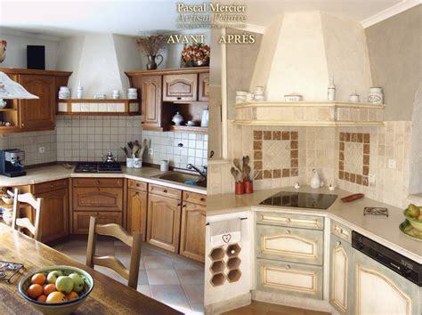 renovation cuisine rénovation de cuisine peinture des murs et meubles de