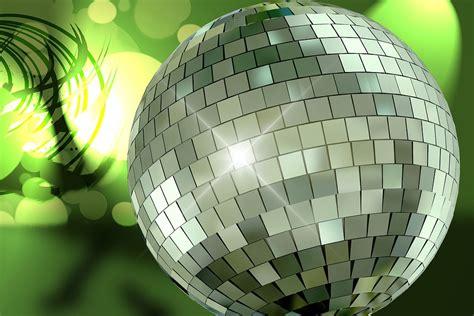 illustration gratuite boule disco arriere plan image