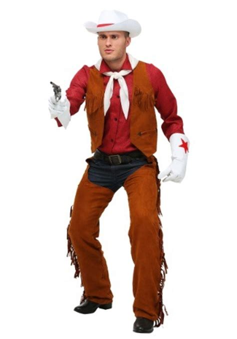 adult  size rodeo cowboy costume