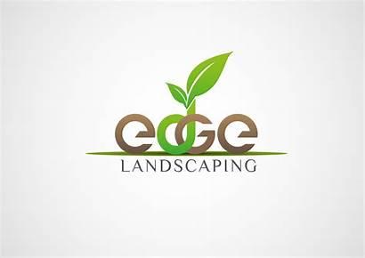 Landscaping Landscape Business Edge Logos Unique Company