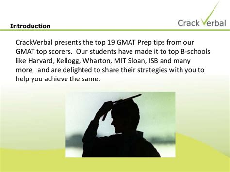 19 Ways To Improve Your Gmat Score By Top Scorers