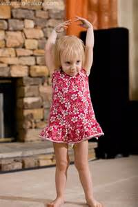Toddler Girl Dancing