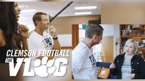 Clemson Football || The Vlog (Holly Rowe and Maria Taylor ...