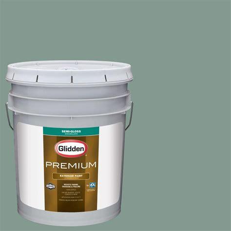 glidden premium 1 qt semi gloss water based acrylic