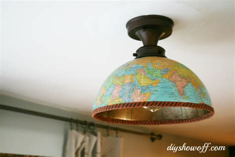 diy globe light fixturediy show diy decorating and