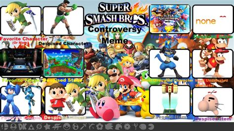 Super Smash Bros Meme - super smash bros meme by candyandness on deviantart