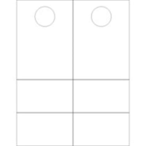 Door Hanger Template Photoshop by Templates Door Hangers With Tear Away Cards 2 Per Sheet