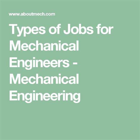 ideas  mechanical engineering career