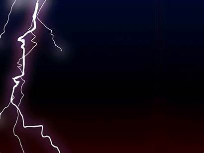 Electricity Lightning Animated Animation Clipart Fx Gifs