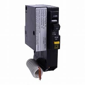Square D Qo120gfi1200   Miniature Circuit Breaker 120v 20a