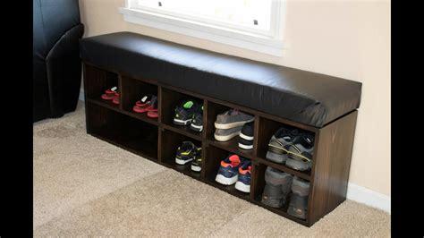 Diy Shoe Storage Bench