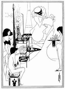 Beardsley Salome Drawing by Granger