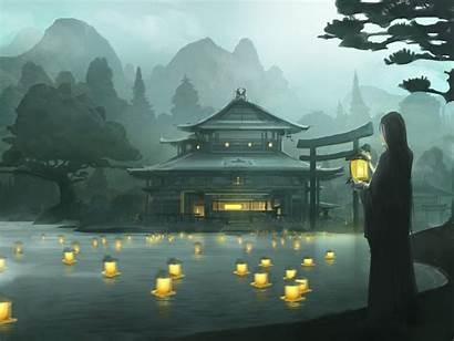 Rings Legend Five Samurai L5r Rokugan Fantasy