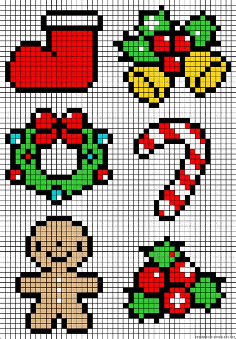 christmas perler bead patterns  create