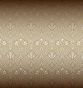 Papier Peint Art Nouveau : seamless ornamental pattern vector material 01 vector ~ Dailycaller-alerts.com Idées de Décoration