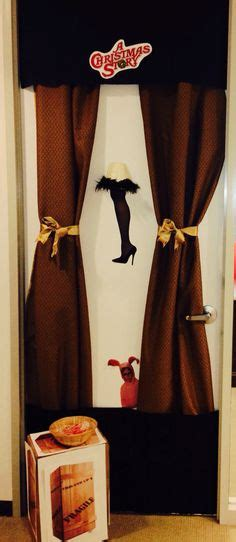 christmas story door decorations wwwindiepediaorg