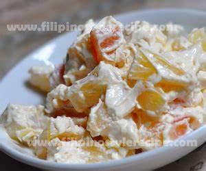 Fruit Salad   Filipino Style Recipe