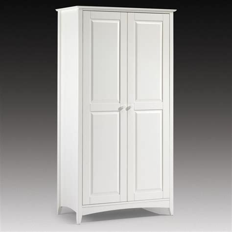 Cheap Wardrobes Uk by Cheap Wardrobe In White Lacquer 2 Door Wardrobe