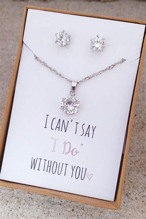unique bridesmaid gifts  show  bffs    care