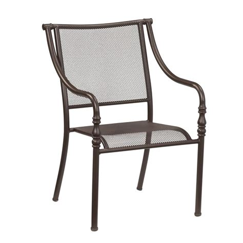 hton bay mix and match stack patio dining chair