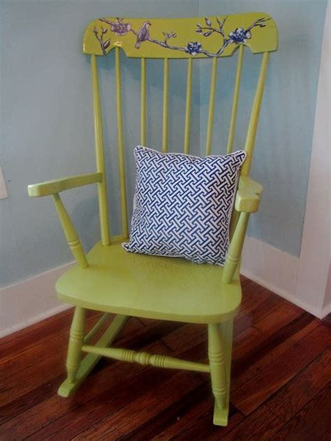 Rocking Chair Refinish! #diy  For My Home Pinterest
