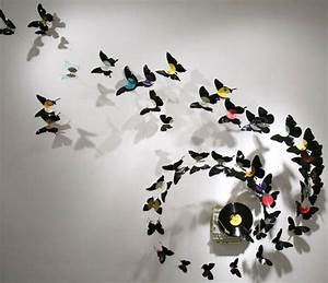 Recycling cans for images of birds and butterflies