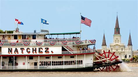 Steamboat Natchez by Steamboat Natchez New Orleans