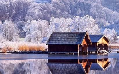 Winter Scenery Desktop Wallpapers Wallpapersafari