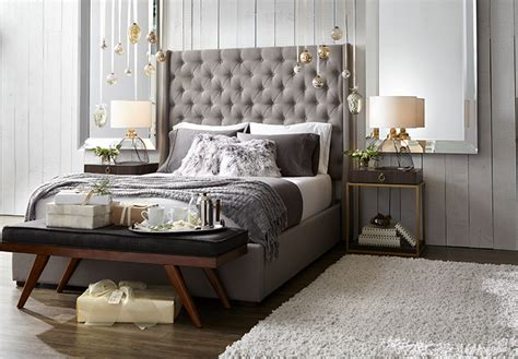 rustic glam holiday decorating ideas   bedroom